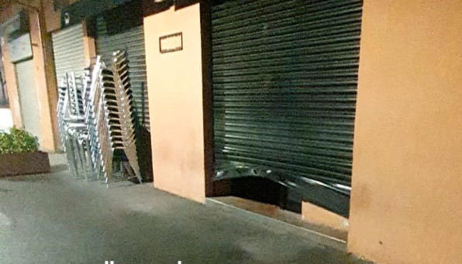 Imatge d'arxiu d'un establiment que va patir un robatori.