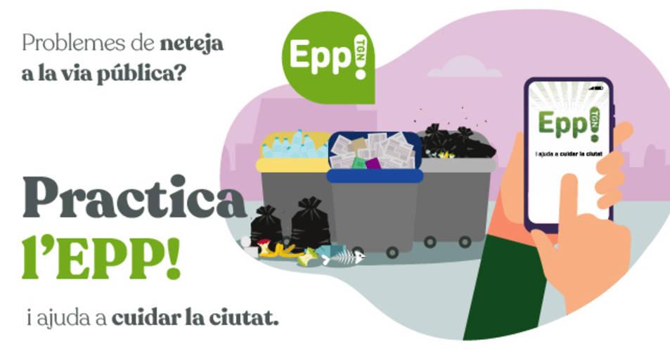 Imatge de la campanya de promoció de l'aplicació.
