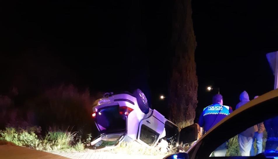 Imatge del lloc de l'accident