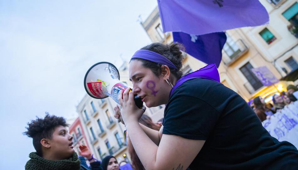 Manifestació 8-M Dia de la Dona (I)