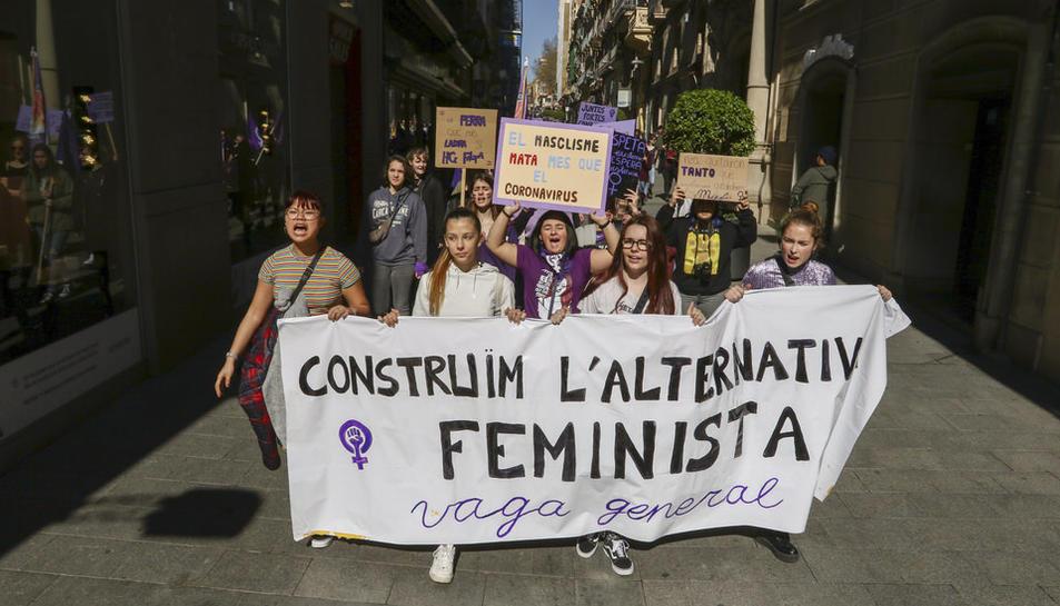Manifestació 8-M Dia de la Dona
