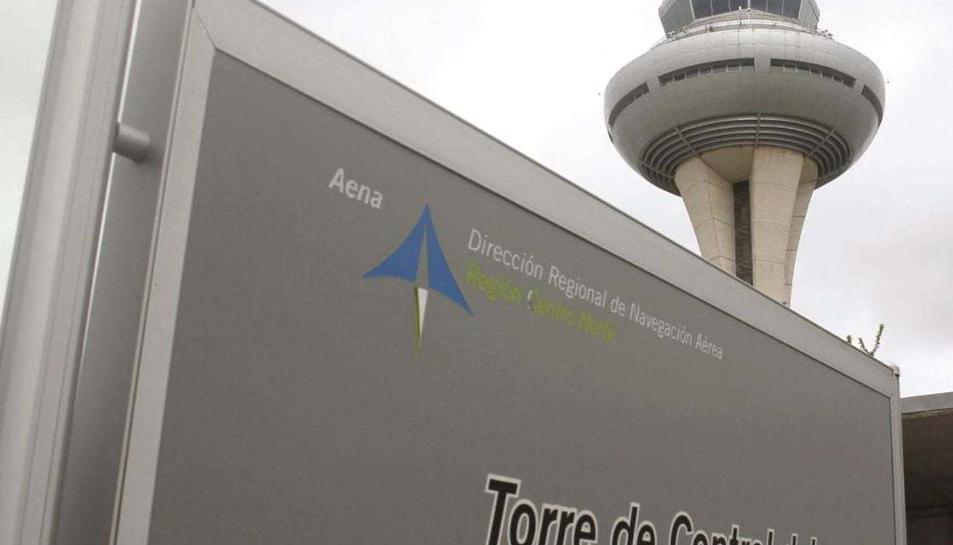 Imatge d'arxiu de la torre de control de Barajas