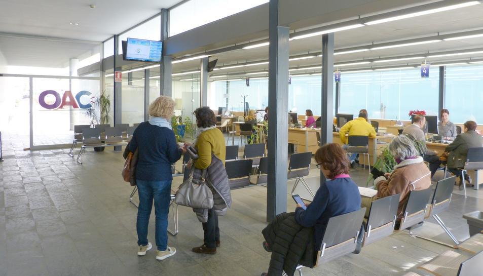 Oficina d'Atenció Ciutadana de l'Ajuntament de Salou.