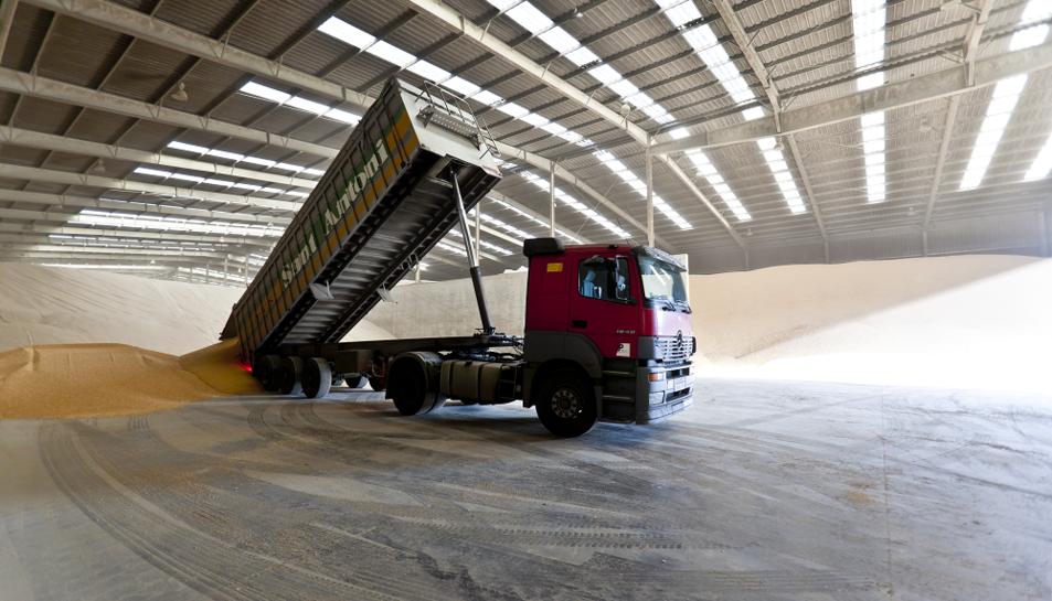 El Port de Tarragona, de la mà del seu responsable comercial Pedro Bernal, va presentar el nou Sistema d'Entrega d'Agroalimentaris.