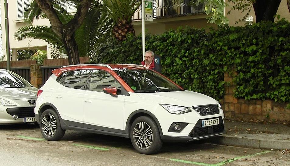 El Seat Arona és un vehicle ideal per a la ciutat per les seves mides i maniobrabilitat.