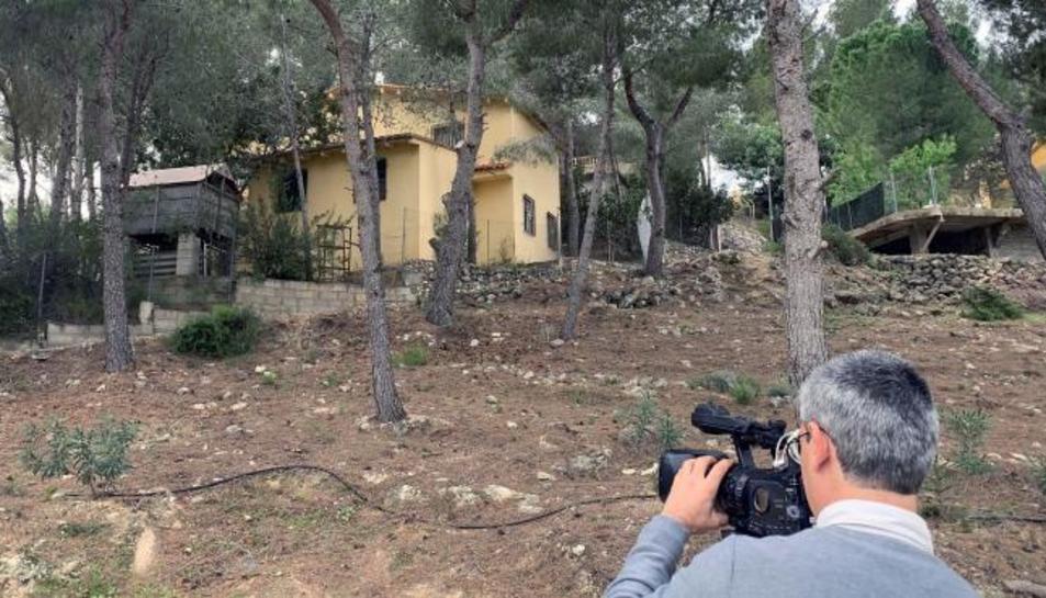 Imatge de la casa on han tingut lloc els fets.