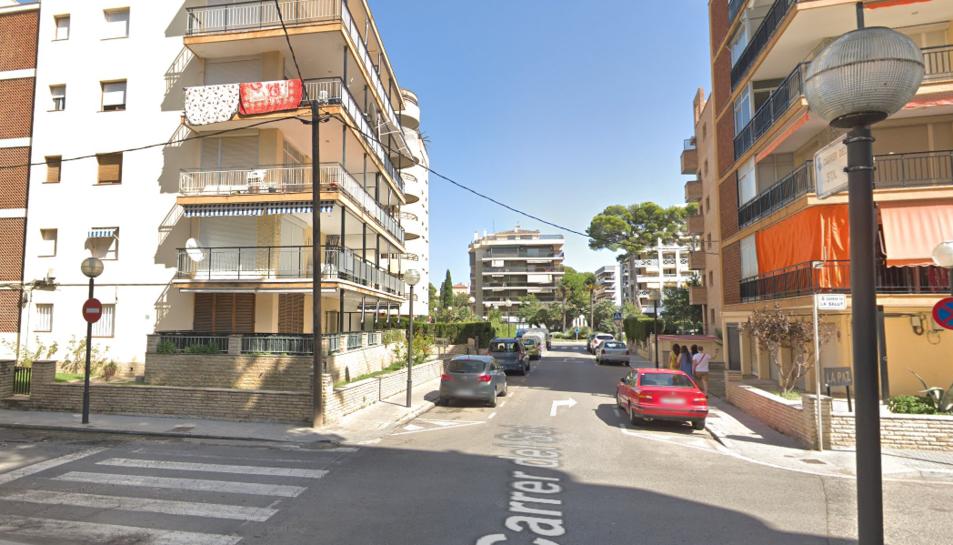 Imatge general del carrer del Sol de Salou.