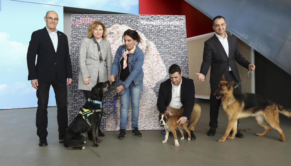 Imatge de la presentació de la Fira, que té els animals com a grans protagonistes.