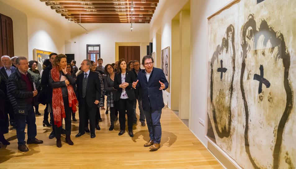 Inauguració de l'exposició la tarda de dimecres al Castell de Vila-seca.