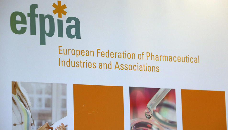 Logo de la Federació Europea de la Indústria Farmacèutica