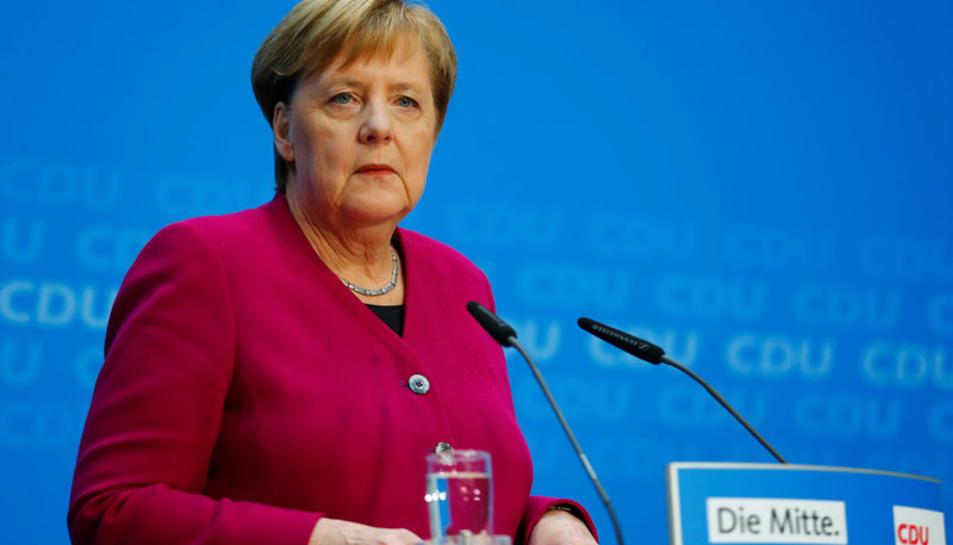 Merkel en una imatge d'arxiu