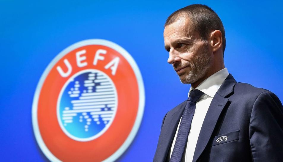 Aleksander Ceferin, president de la UEFA.