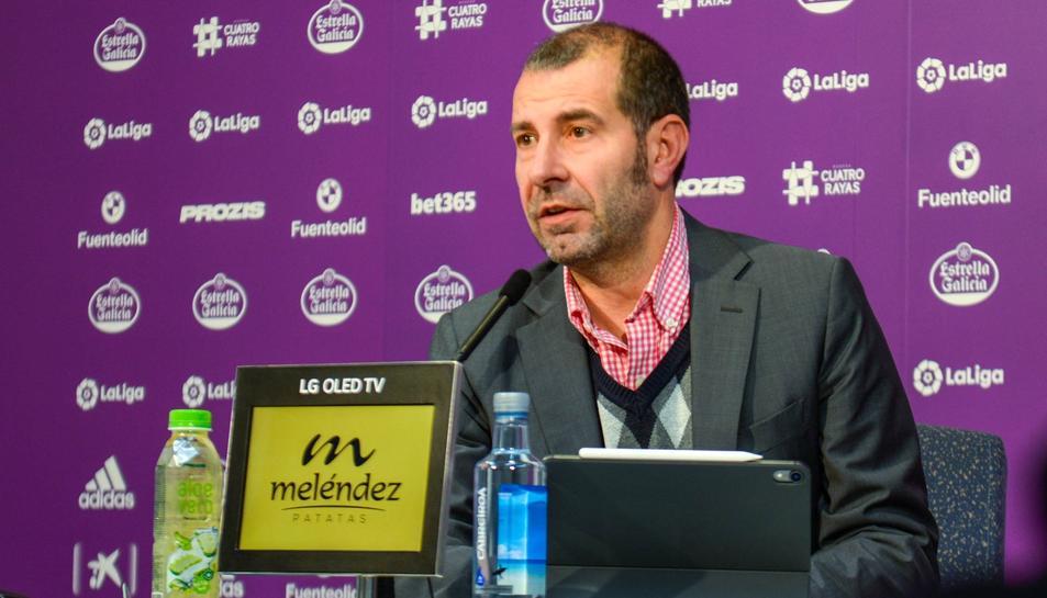 David Espinar, director del Gabinet de Presidència i portaveu institucional del Real Valladolid.