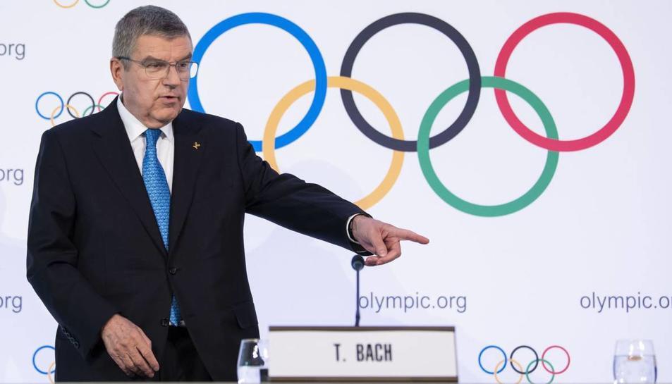 Thomas Bach, president del Comitè Olímpic Internacional.