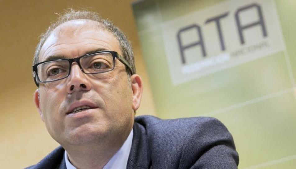 El president de ATA, Lorenzo Amor