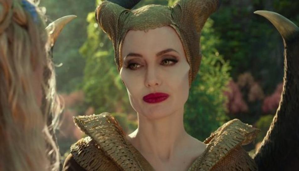 Instant del film Malèfica amb Angelina Jolie.