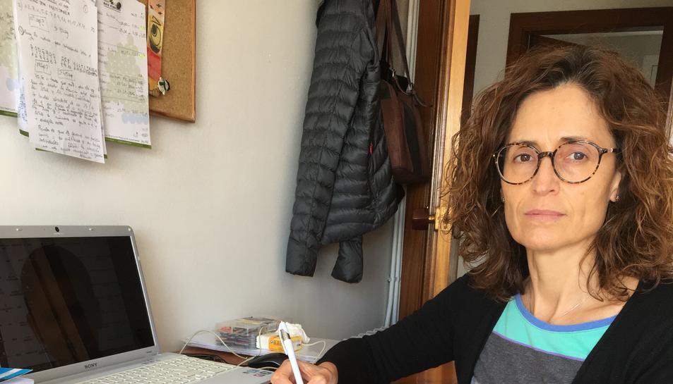 La professora Yolanda Almagro, que imparteix el curs.