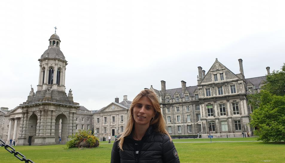 Domingo en una imatge a Dublin, on fa gairebé un any que hi viu.