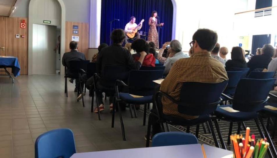 Imatge d'una activitat al Teatret del Serrallo.