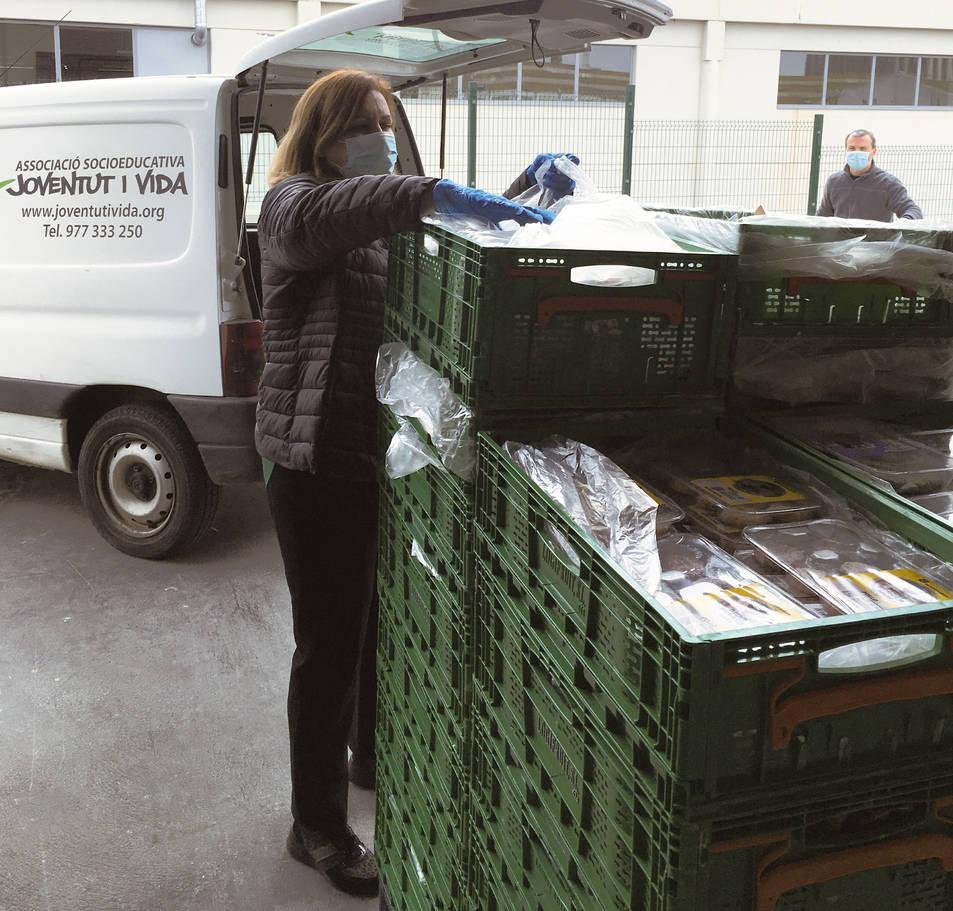 Mercadona ha donat aliments