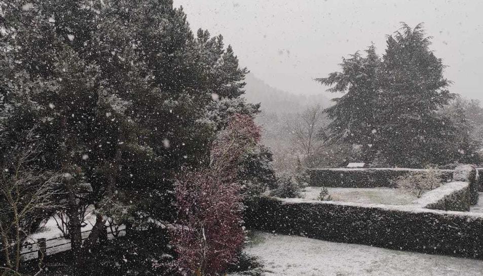 Neva a Prades