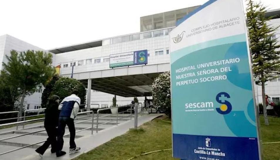 Imatge de l'hospital d'Albacete