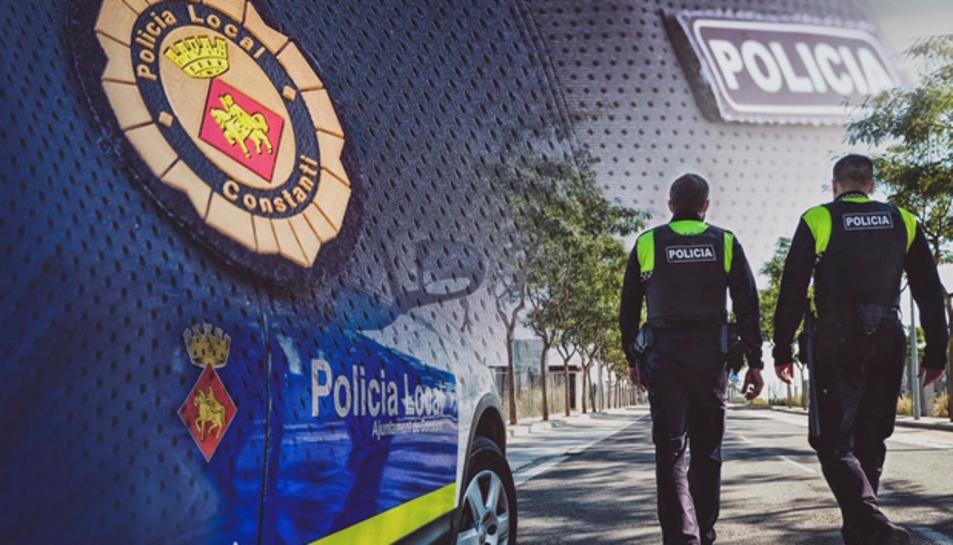 Imatge corporativa de la Policia Local de Constantí.