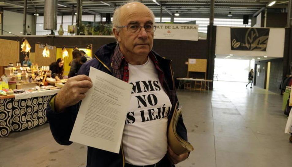 Josep Pàmies, en una imatge d'arxiu