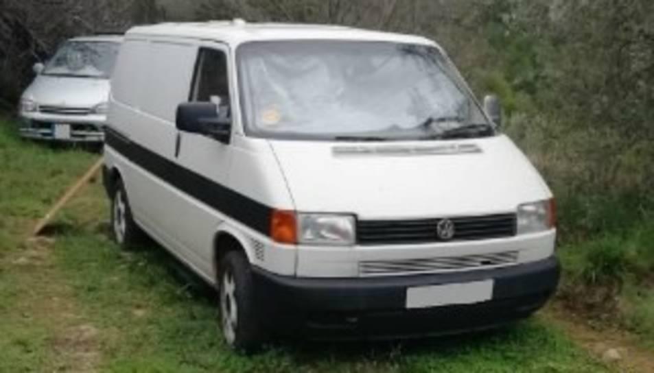 Pla general dels vehicles localitzats a Fígols i Alinyà (Alt Urgell) pels Agents Rurals.