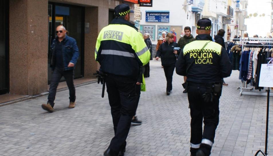 Imatge d'arxiu de la Policia Local de Calafell