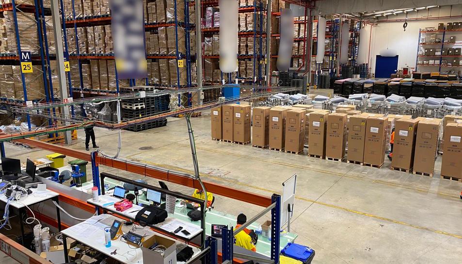 El nou centre d'operacions logístiques de CatSalut i el SEM