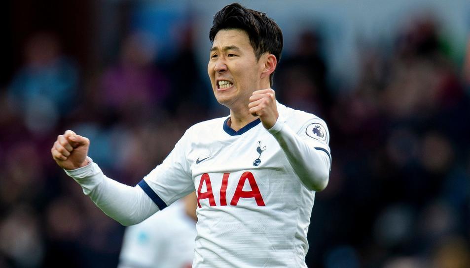 Son en un partit amb el Tottenham.