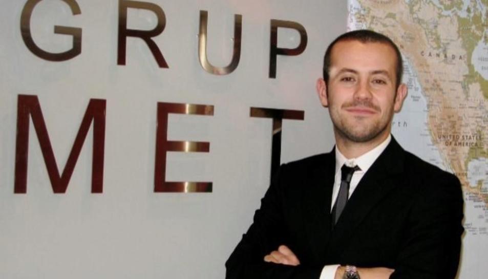 Francesc Maristany, president de l'empresa Grup Met.