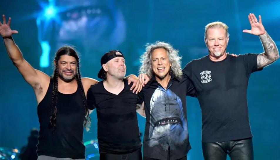 La mítica banda Metallica oferirà avui un concert en directe pel seu canal de Youtube.