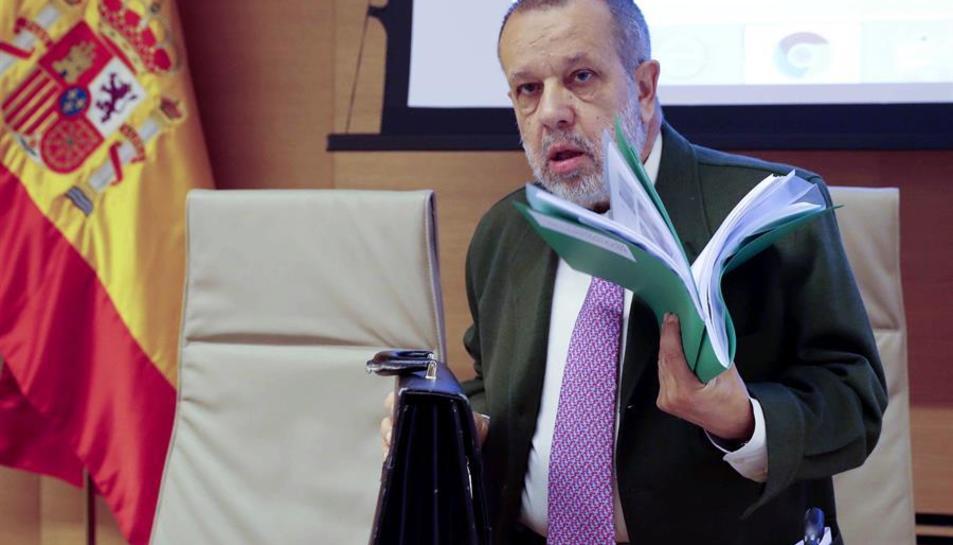 El defensor del poble, Francisco Fernández Marugán.