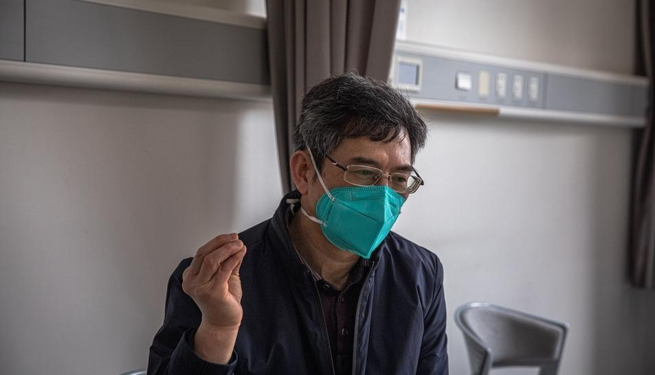 Imatge del doctor Hu Ke.
