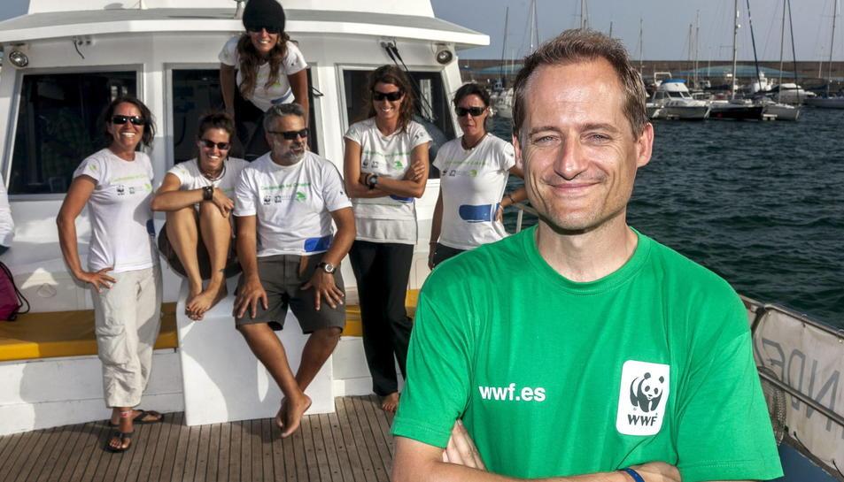 El coordinador de conservació de WWF Espanya, Luis Suárez.