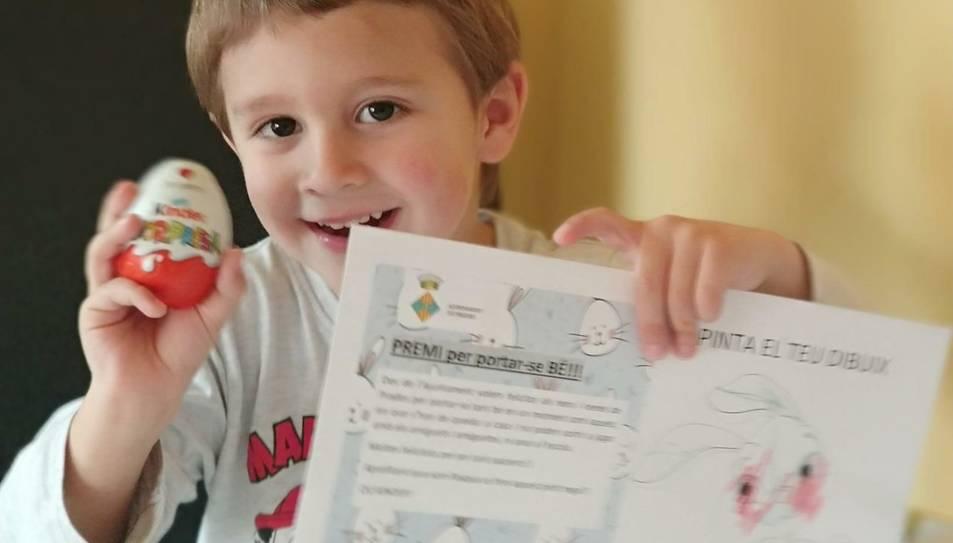També els han entregat una carta felicitant-los pel seu comportament.