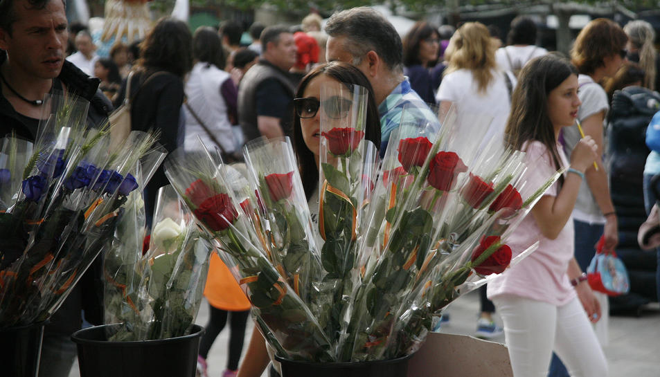 Imatge d'arxiu de Sant Jordi a Valls.