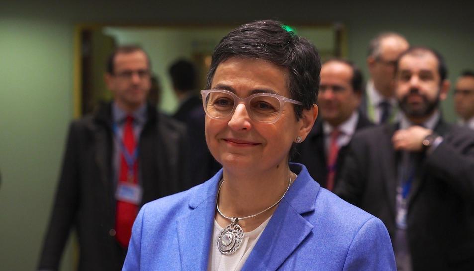 La ministra d'Afers Exteriors, Arancha Gonzalez Laya.