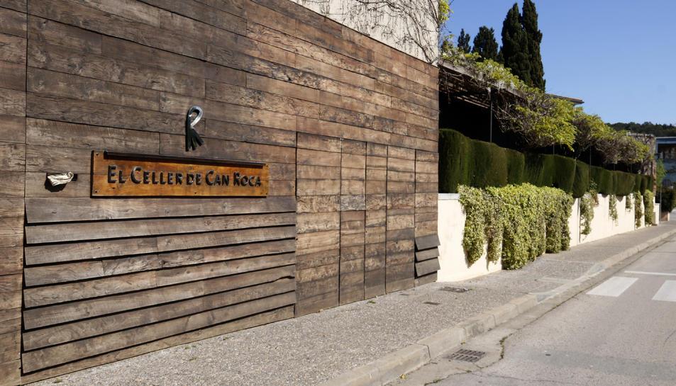 Imatge exterior del Celler de Can Roca.