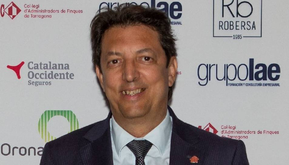 Imatge de Fabián Huguet, president del Col·legi d'Administradors de Finques.
