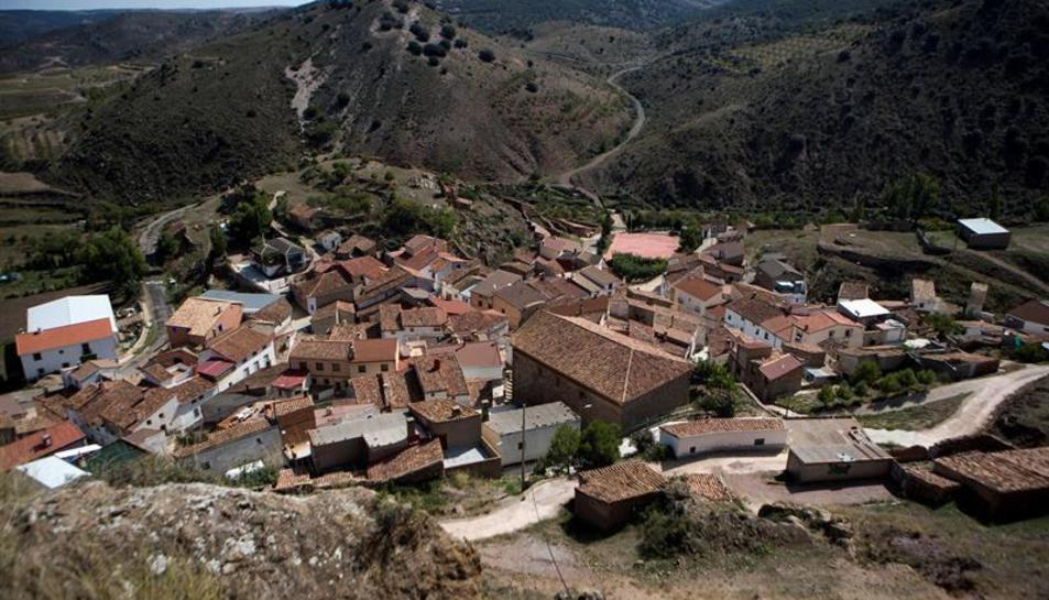 Imatge d'un municipi rural