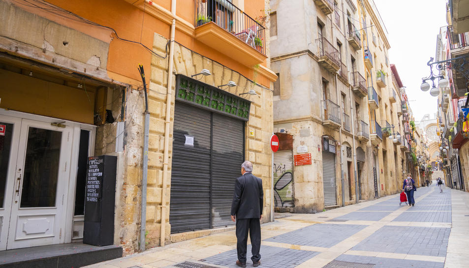 El local, ja tancat, es troba al carrer Major de Tarragona.