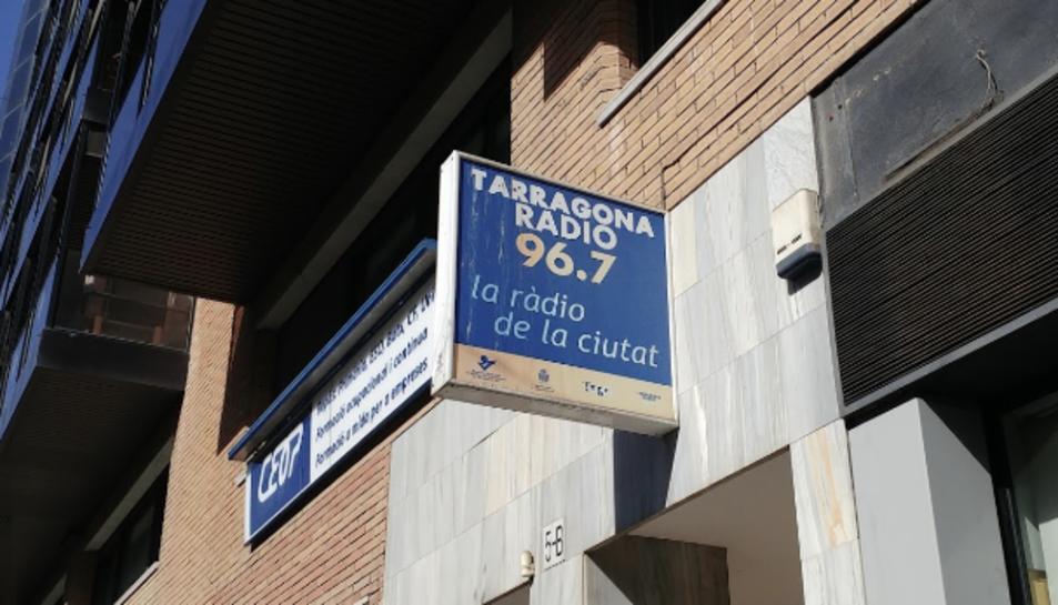 Imatge de l'edifici on es troba l'emissora de Tarragona Ràdio.