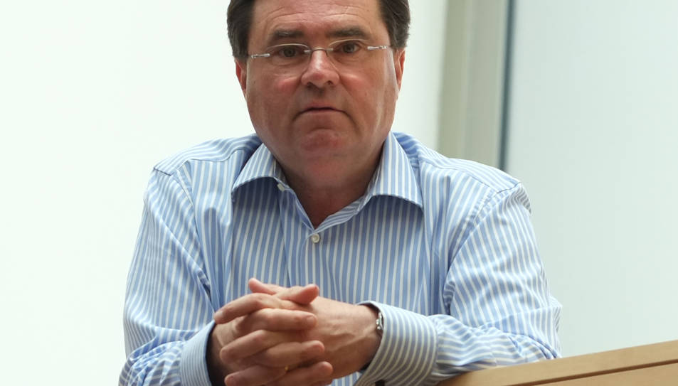 L'alcalde de la Pobla de Mafumet, Joan Maria Sardà.