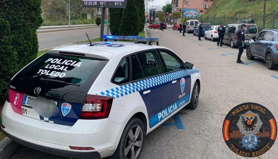 Imatge d'arxiu de la Policia Local de Toledo.