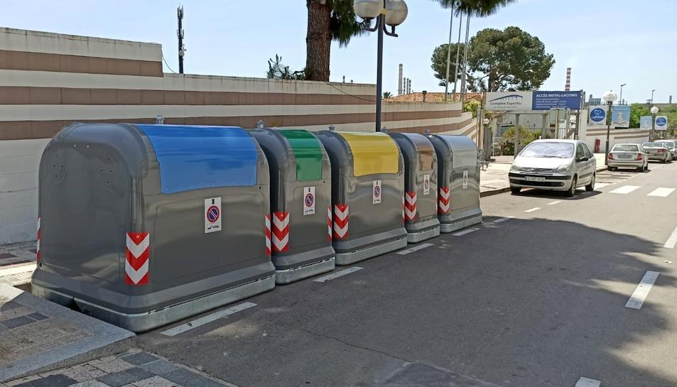 Els contenidors orgànics estan disponibles al municipi des de divendres.