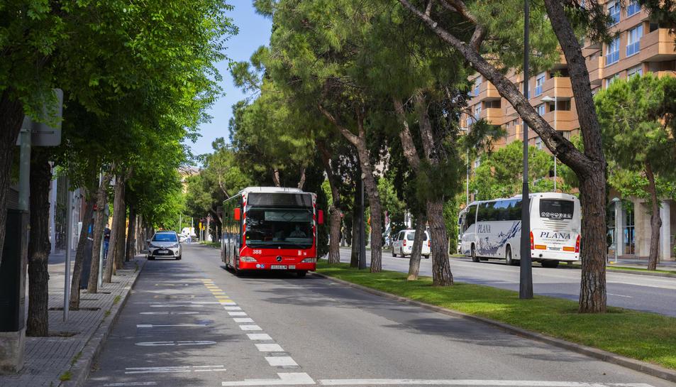 El tram de l'avinguda Roma connectarà el centre amb Ponent.