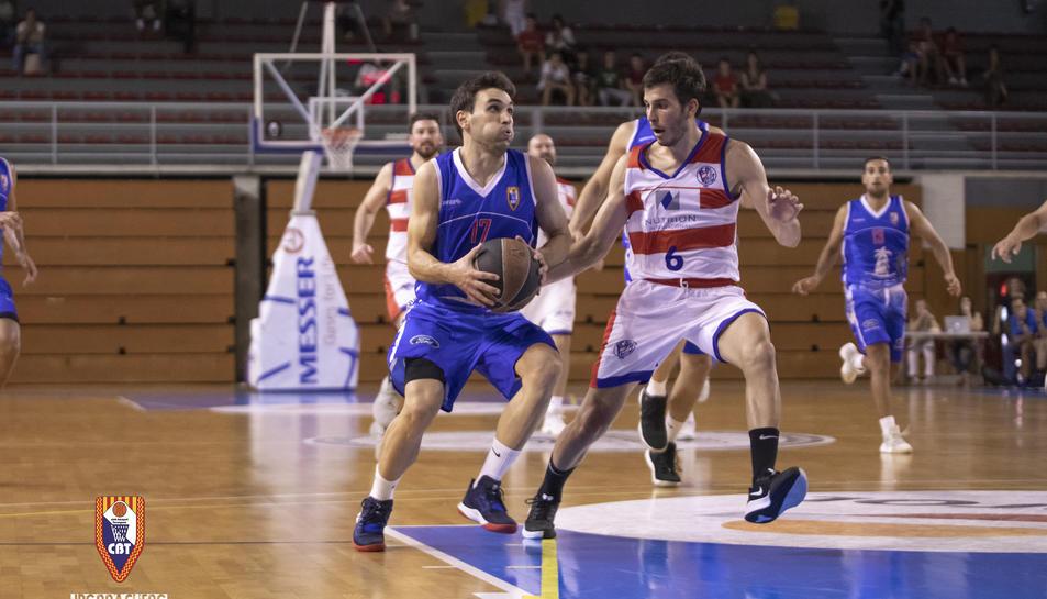 Un moment del CBT-Valls de la primera volta de la temporada 2019-20.